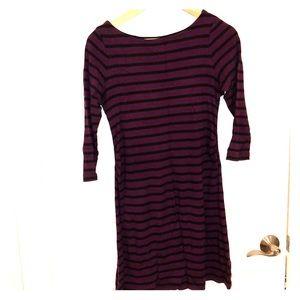 Gap maternity stripe dress